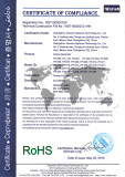 RoHS certification of Ozone Generator