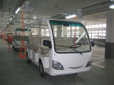14 Seats Electric Sightseeing Car For 40′ Container