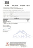 MW12020 folding camping table EN581 test report
