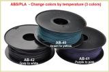 3 color ABS/ PLA change colors 3D printer filament