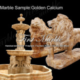 Marble Sample Golden Calcium