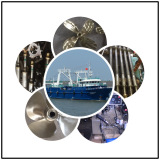 Marine propeller and shafts