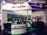 Aufine in 2014 Essen Reifen Show in Germany