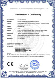 CE certification for solar junction box