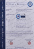 CE certificate of Tattoo Needle