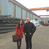 German customer visit