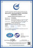 The Management System Certificate for Manufacture and sales Hydraulic Cylinder (ISO9001)