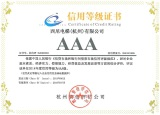 Certificate of Credit Rating AAA