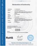 RoHS Certificate of Bodycamera