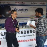 SUNCHINE INSPECTION IN 122nd Canton Fair 18th April 2017