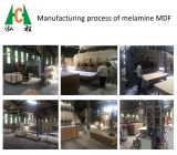 Melamine MDF Manufacturing Process