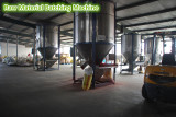 Raw material mixing machine