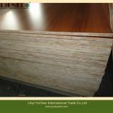 Wooden Grain melamine blockboard/melamine laminated blockboard