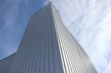standing seam facade