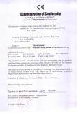 CE declaration of conformity for salmonella typhi rapid test