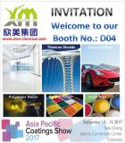 Invitation Letter to Asia Pacific Coatings Show 2017