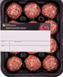Rigid forming film Meat ball packaging