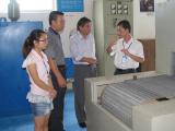 Peru customer′s visit
