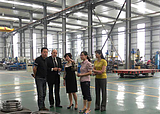 our client in our factory