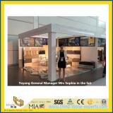 Stone Fair:Yeyang General Manager Mrs Sophia in the fair