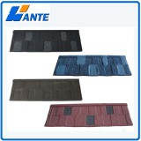 Colorful stone coated roof/roofing tile