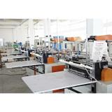 Hot sealing cold cutting bag making machine workshop