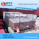 Unloading Power Plant Equipment and Materials