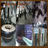 Glass aluminum channel railing shipped to Russia