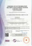 ISO/IEC27001:2013 Certificate