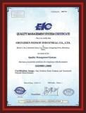 Shenzhen Pepson ISO Certificate(English)