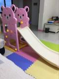 Bear style plastic slide pink