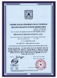 Certificate of conformity of occupational healthandsafetysystem certification