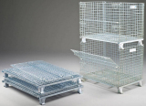 a foldable storage cage is what are you looking for