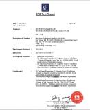 STC PRO65 test report