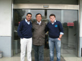 Customer from Brazil visit our photoswitch factory