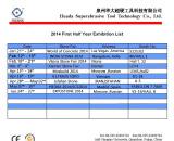 2014 First Half Year Exhibition List