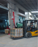 Container Loading with Forklift Car