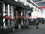 50ton induction smelting furnace