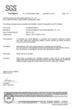 Food Certificate -- Material LDPE