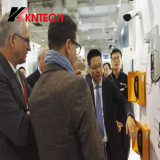 Huawei discuss with our kntech industrial telephone waterproof telephone