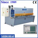 Hydraulic swing beam shearing machine,hydraulic cutting machine 6x3200