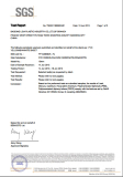 SGS Certificate for PVC Sheet