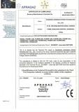 C. E. Certificate for Welding Equipments