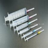 Disposable luer slip syringe with needle