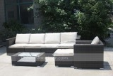 wicker sectional sofa set and rattan furniture set
