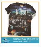 Mens digital printing t-shirt, hot selling now!
