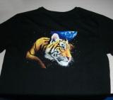 black t shirt printing