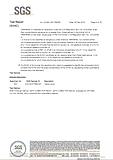 SGS Calcium Znc Tbilizing Aent Material Test Report 3