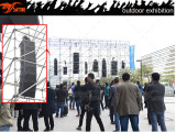 skytone VERA line array system outdoor show exhibition