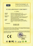 CE certificate of massager